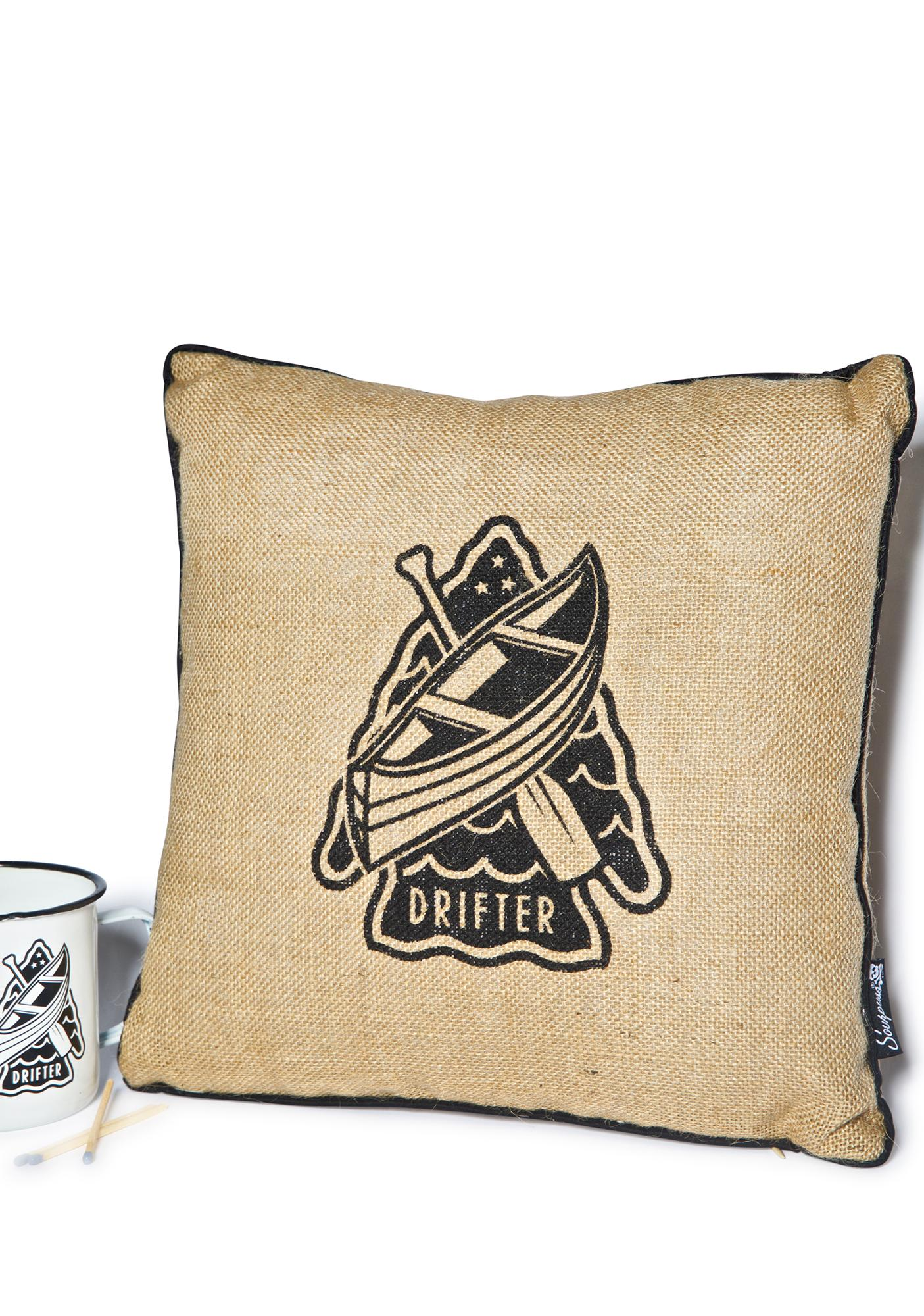 Sourpuss Clothing Drifter Pillow