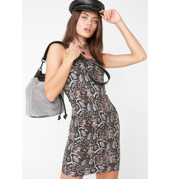 Wild Side Bodycon Dress