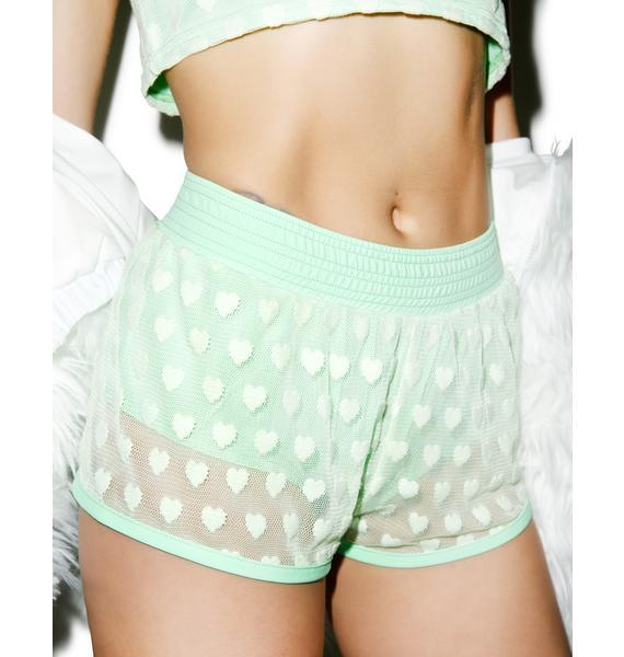 Hot!MeSS Sweet Heart Runner Shorts