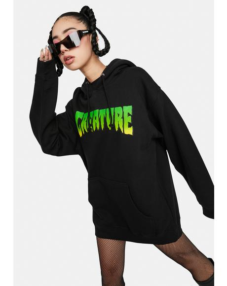 Creature Logo Graphic Hoodie