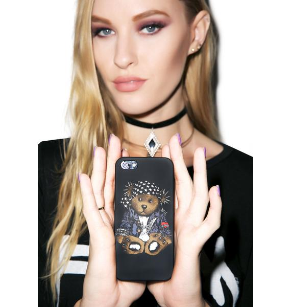 Kayleigh Peddie Rocker Teddy iPhone 5 Case