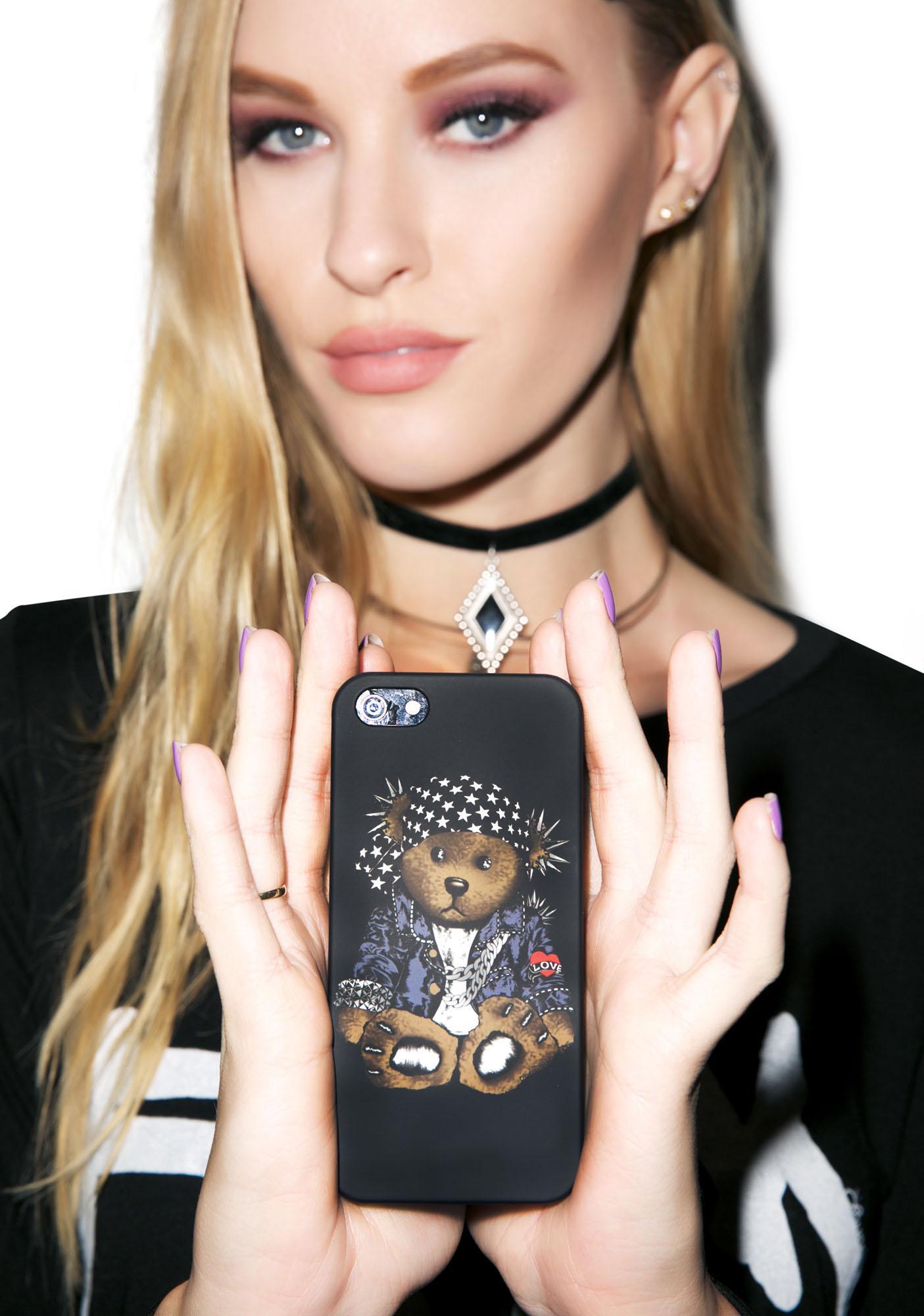 Kayleigh Peddie Rocker Teddy iPhone 5 Case
