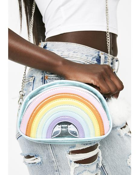 Rainbow Magic Glitter Crossbody