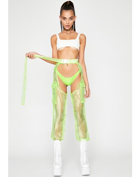 Icon Edition Organza Chaps