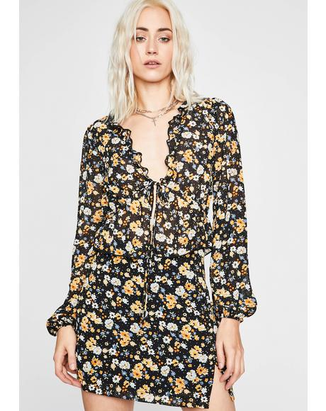 Everything's Flowers Crop Top