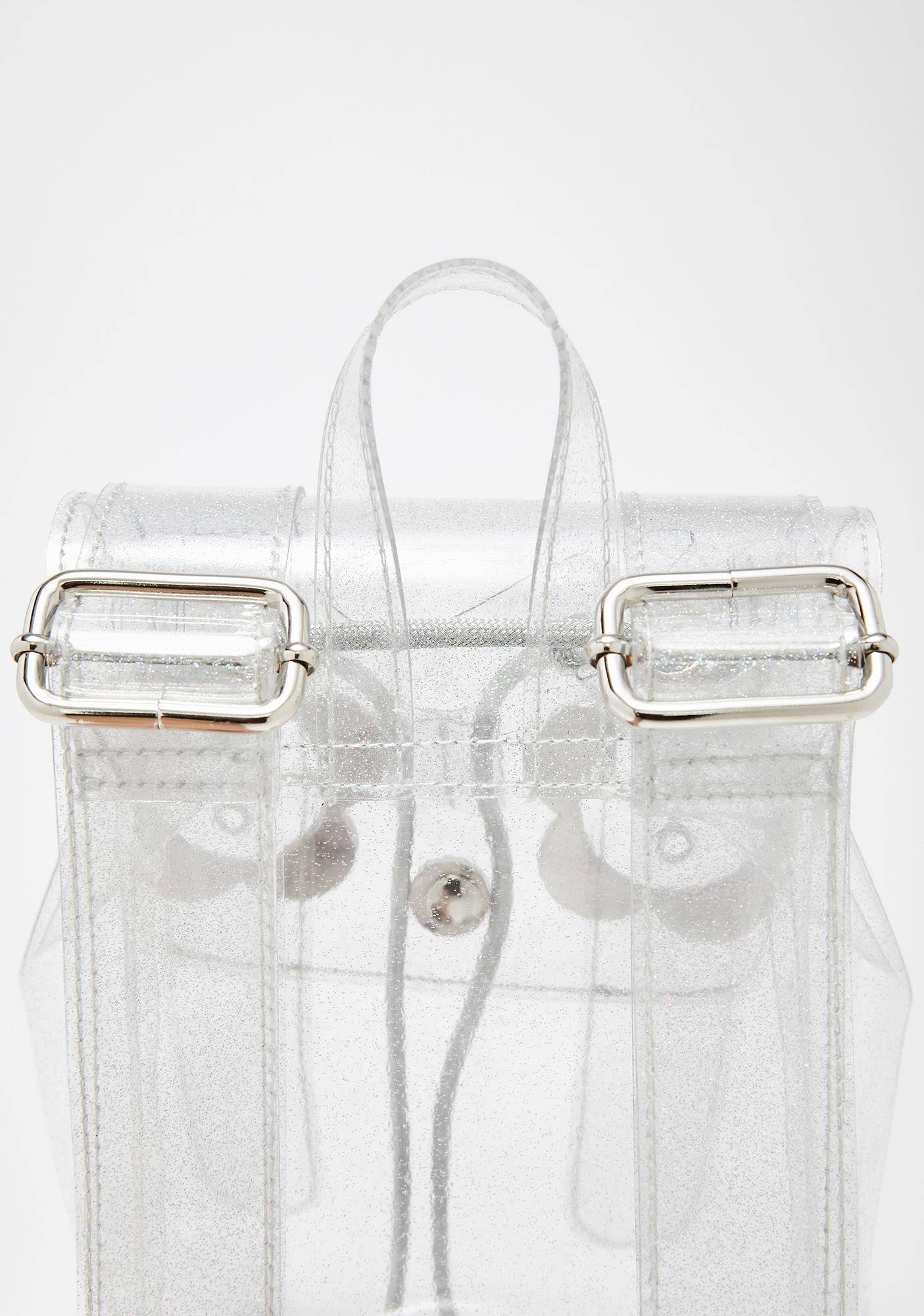 Current Mood Full Bloom Glitter PVC Backpack