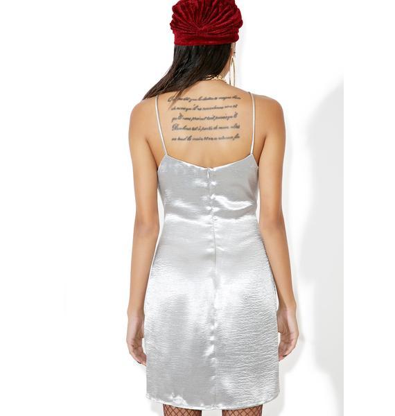 Glamorous Missguided Satin Slip Dress