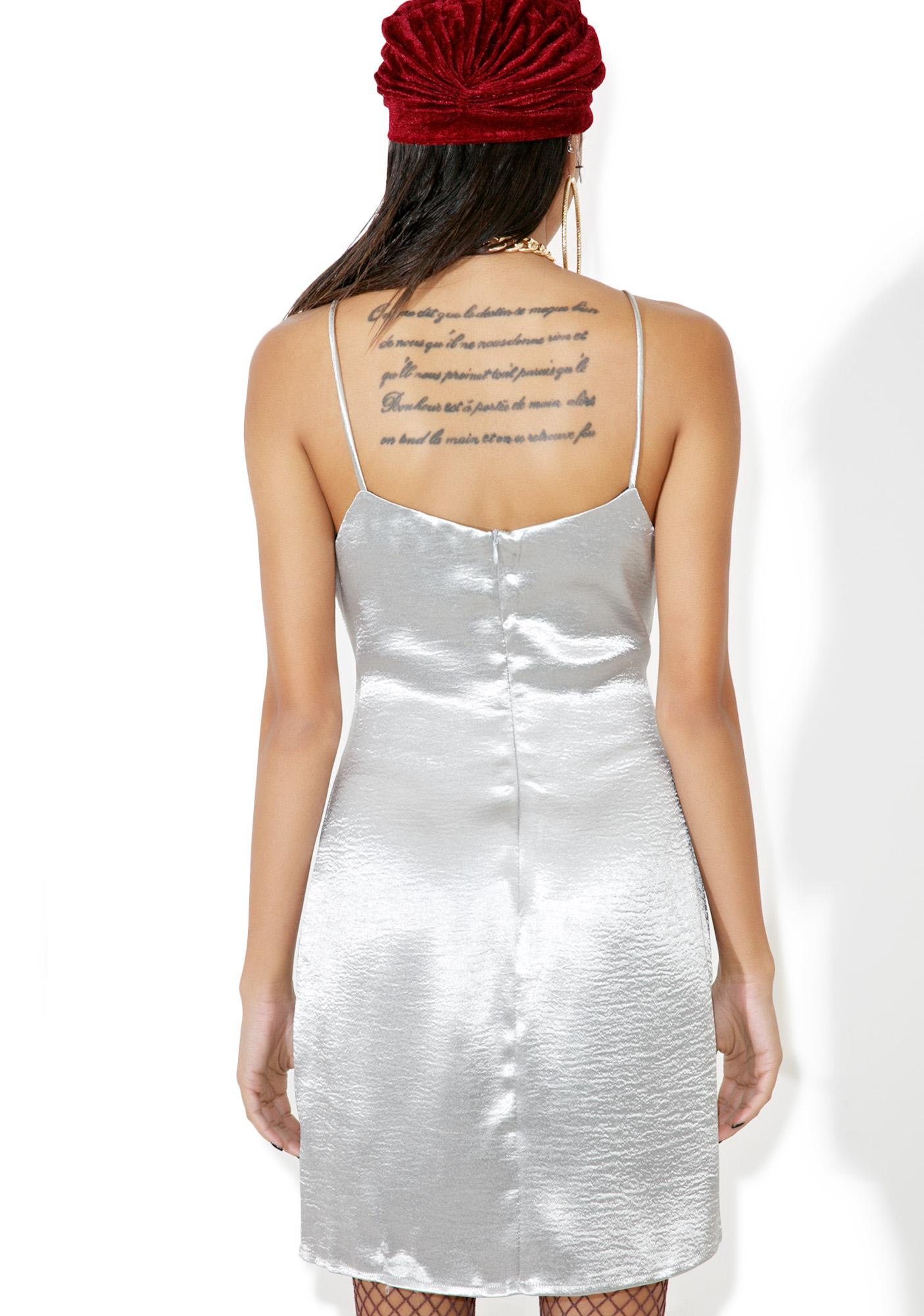 Glamorous Missguided Satin Slip Dress
