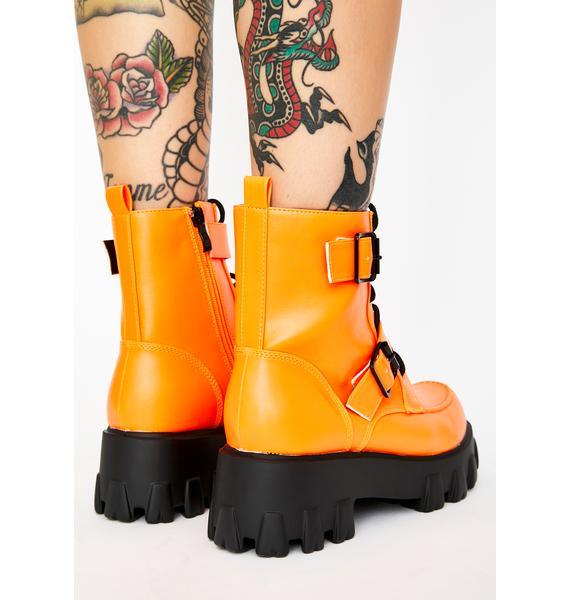 Illegal Loner Combat Boots