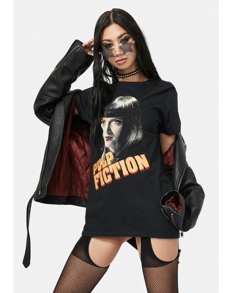 Pulp Fiction Mia Graphic Tee
