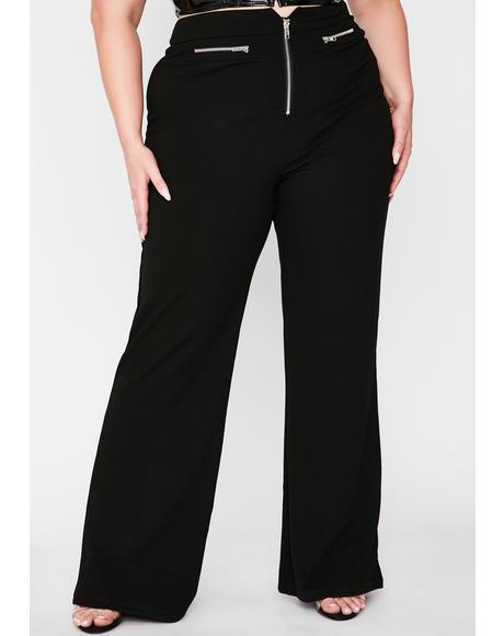 Midnight Truly No Filter Wide Leg Pants