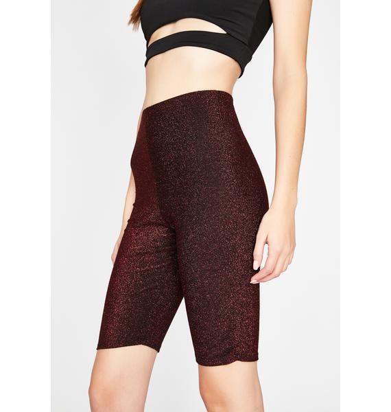 Shimmerific Biker Shorts