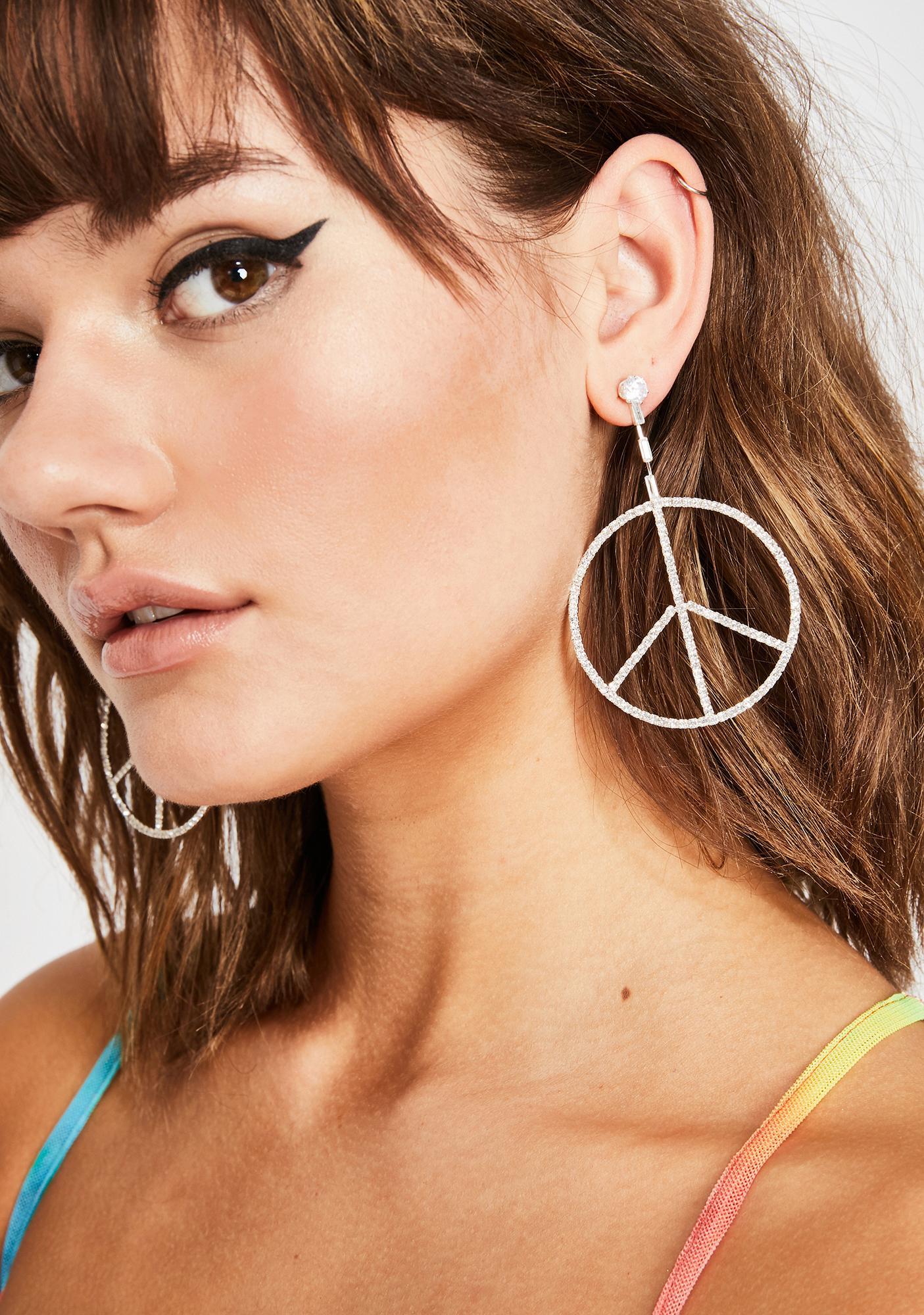 Peace Of Cake Drop Earrings