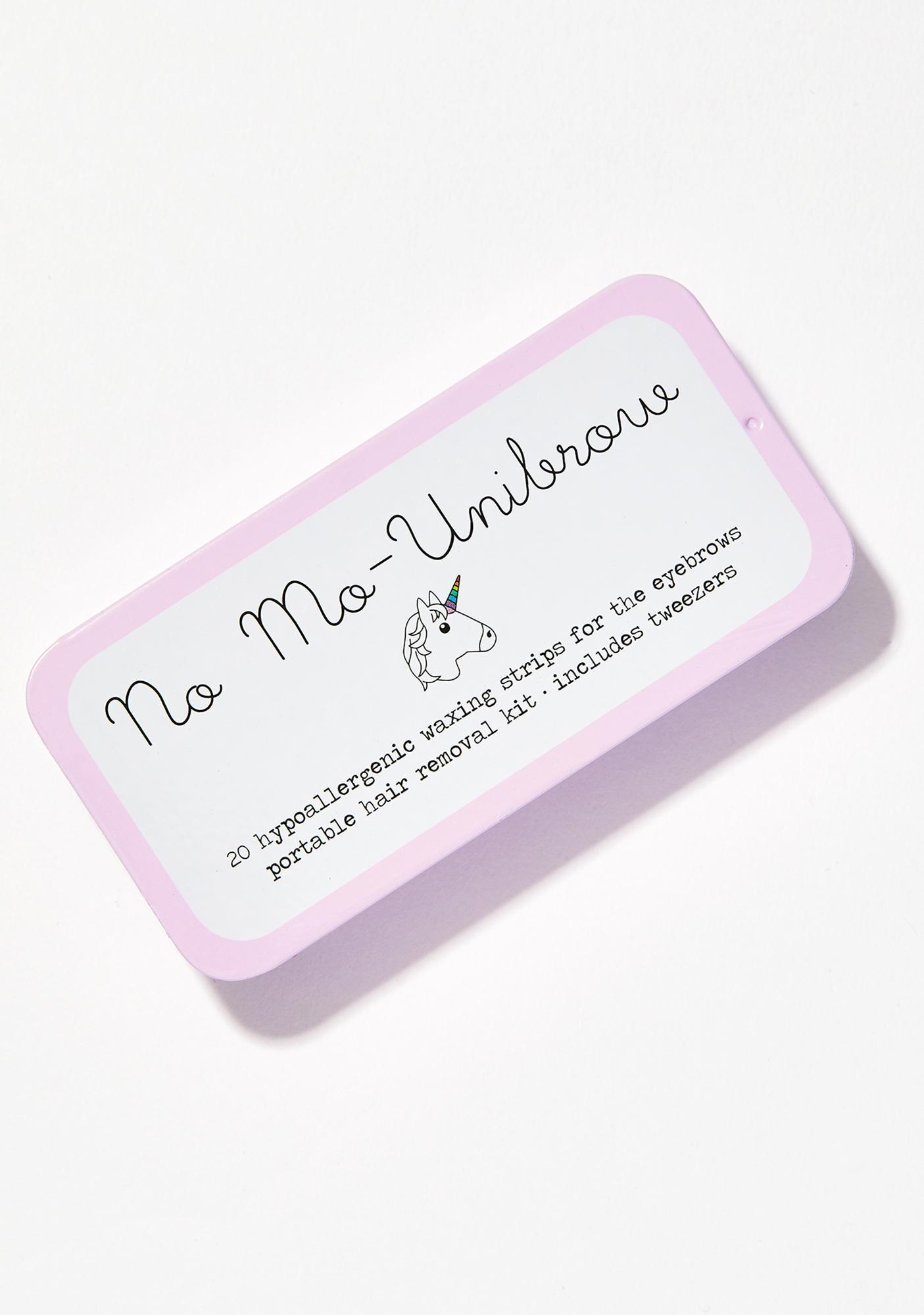 No Mo-Stache No Mo-Unibrow