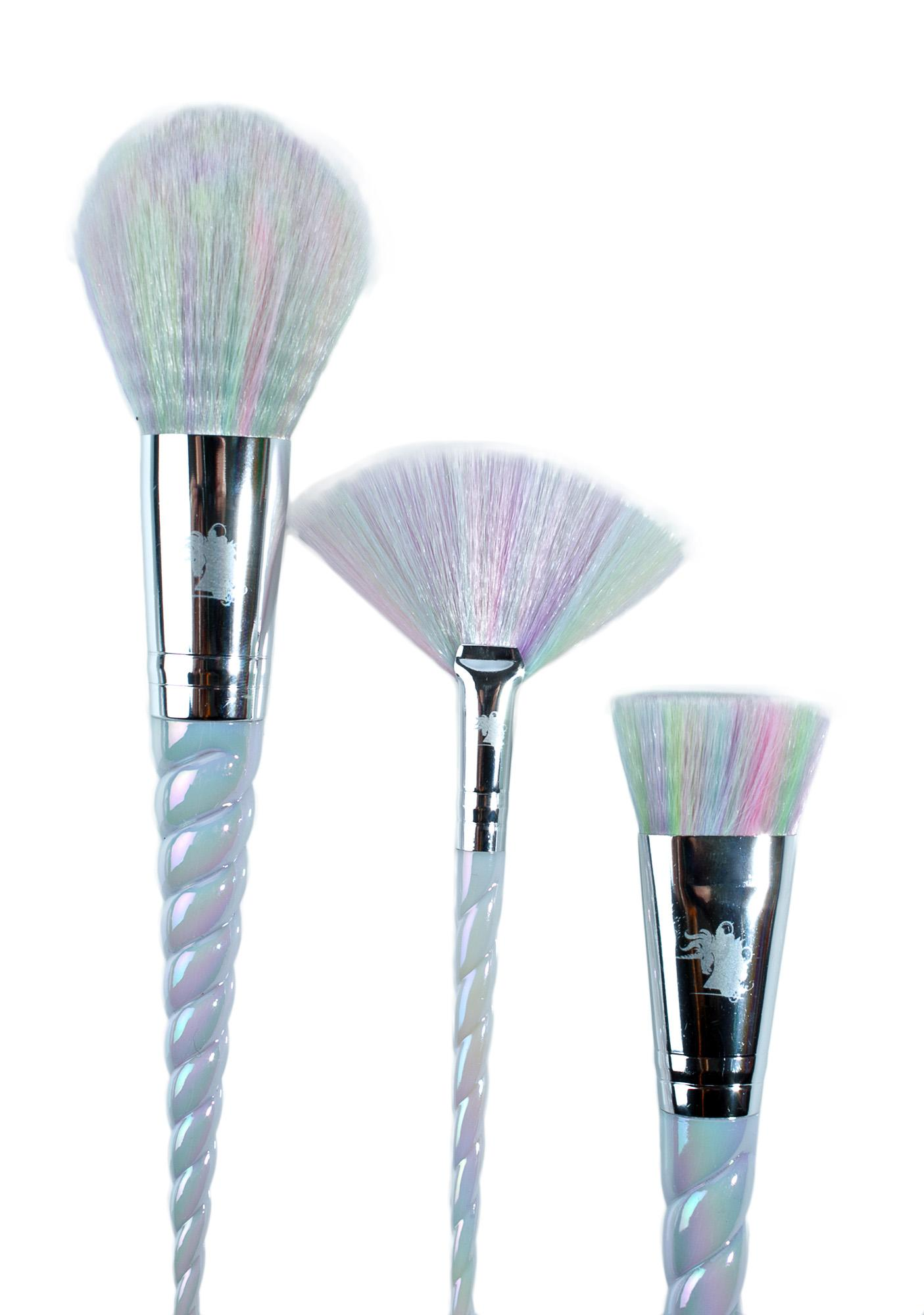 unicorn brush set. unicorn lashes brush set