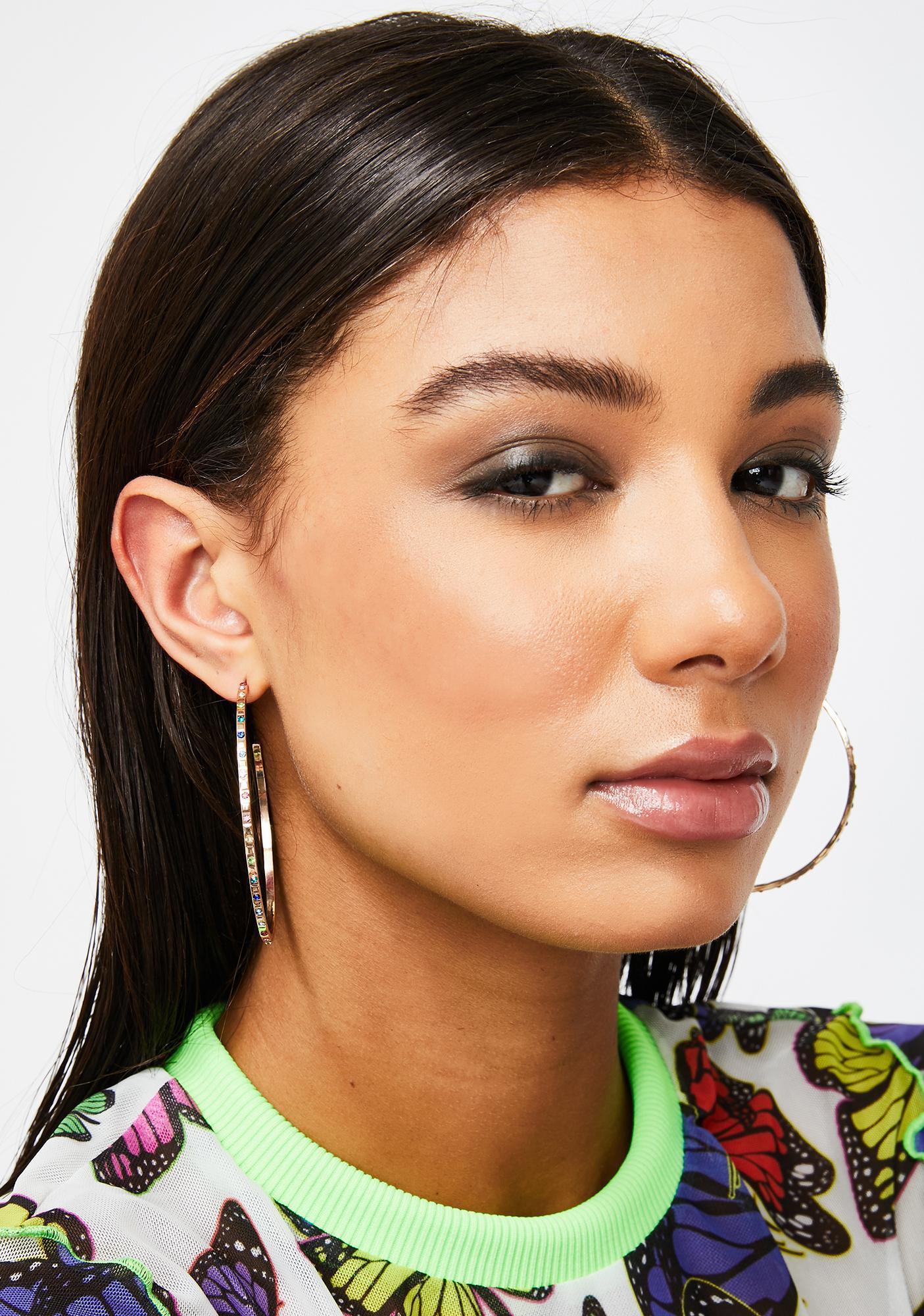 Always Precious Hoop Earrings