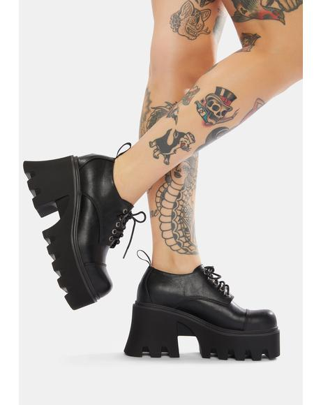 You Can't Win Platform Boots