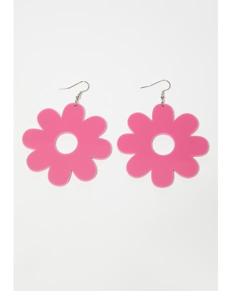 Feeling Delightful Flower Earrings