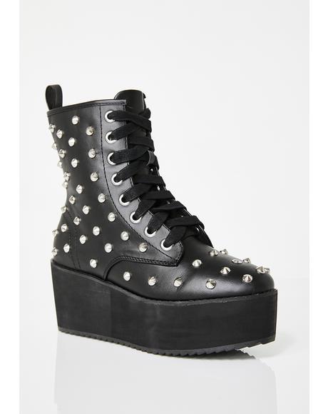 Studded Stomp Hi Boots