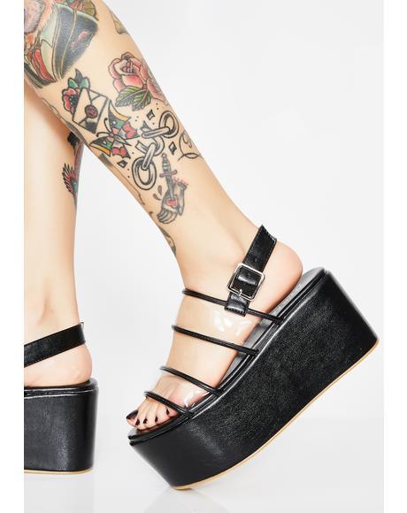Step Aside Platform Sandals