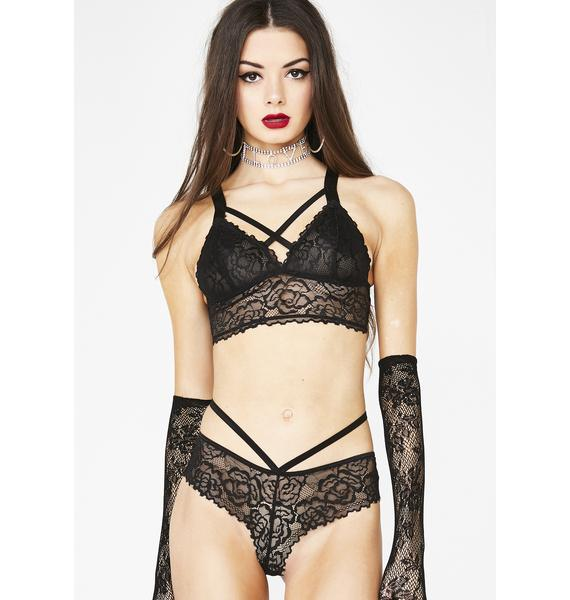 Sinister Love Potion Lace Panties