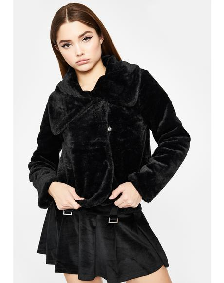 Cutie Moment Faux Fur Jacket