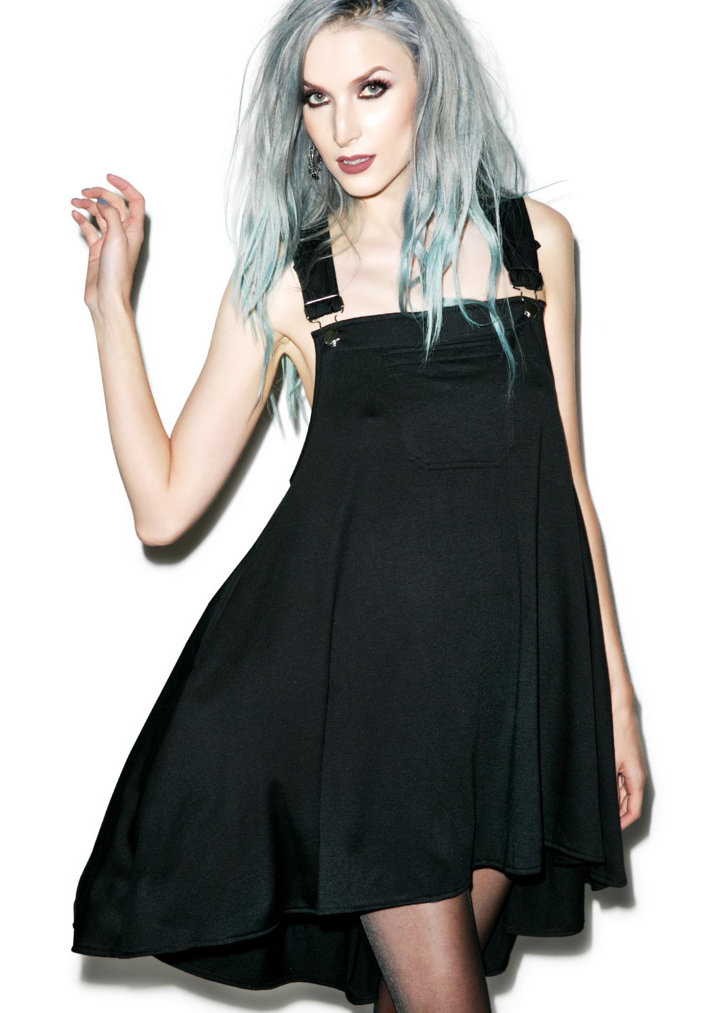 Dark Dolly Overall Dress