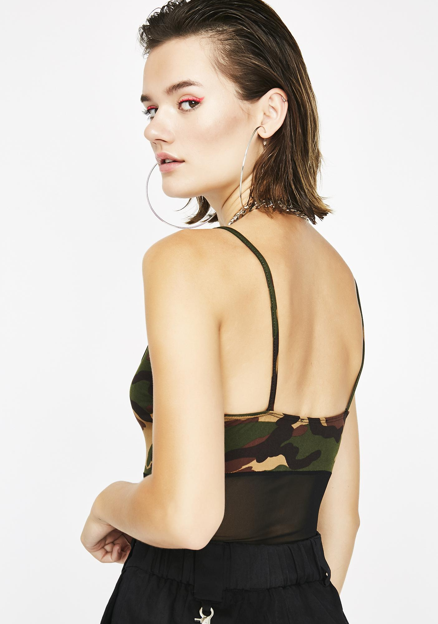 Man Hunt Camo Bodysuit