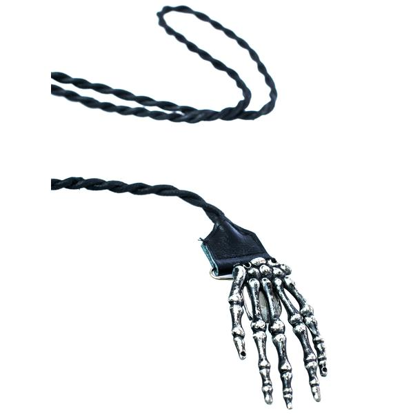 Punk Rave From The Grave Necklace