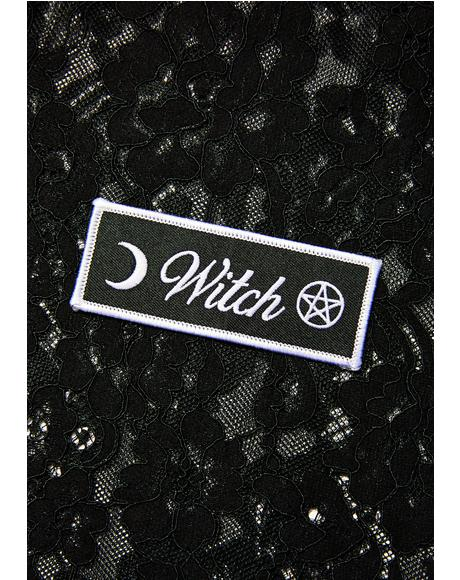 Witch Iron-On Patch