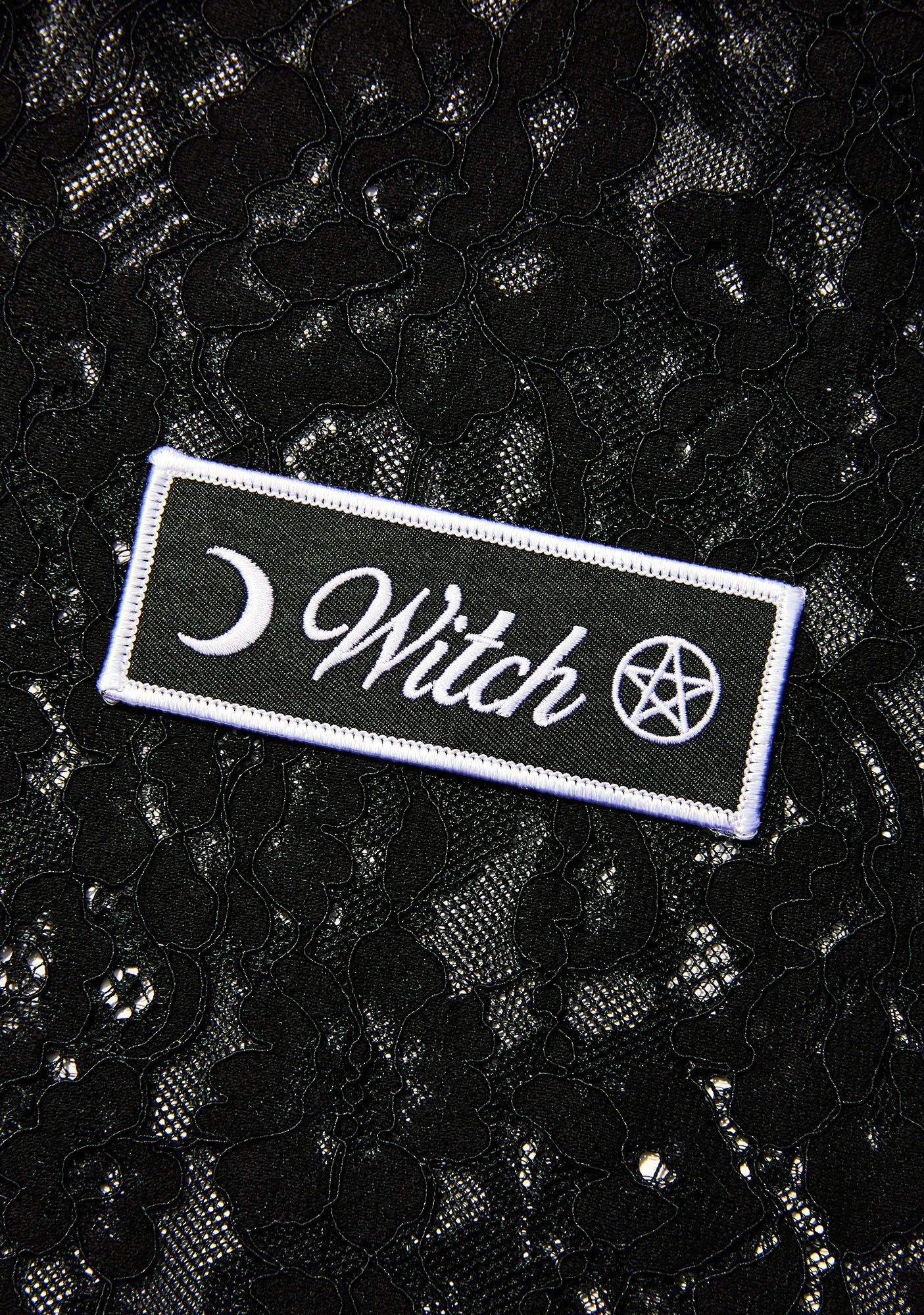 Witch Worldwide Witch Iron-On Patch