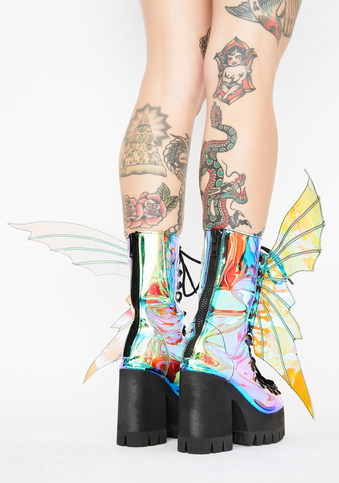 Club Exx Fairy Dreamer Platform Boots