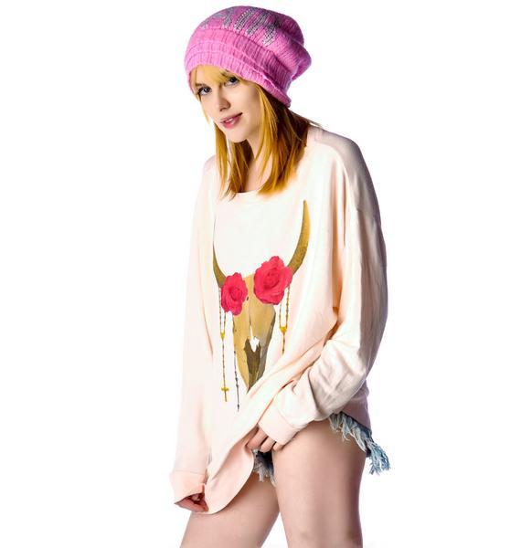 Wildfox Couture Desert Rose Roadtrip Sweater Dress