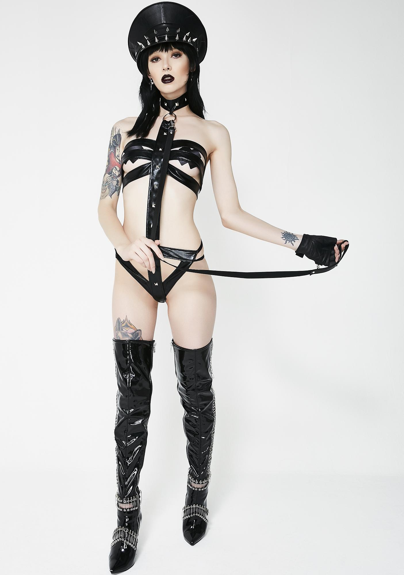 Unleash The Beast Strappy Teddy