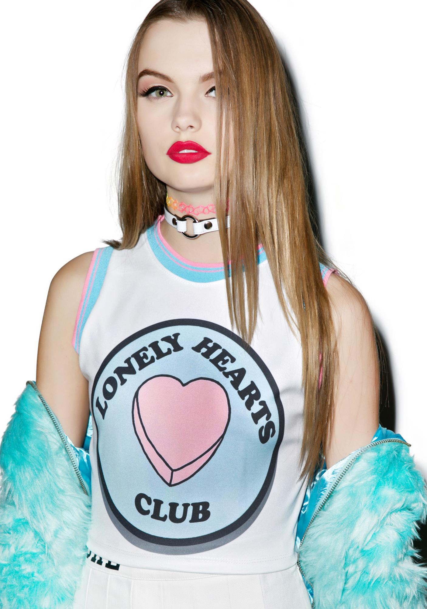 Lonely Hearts Club Crop Tank