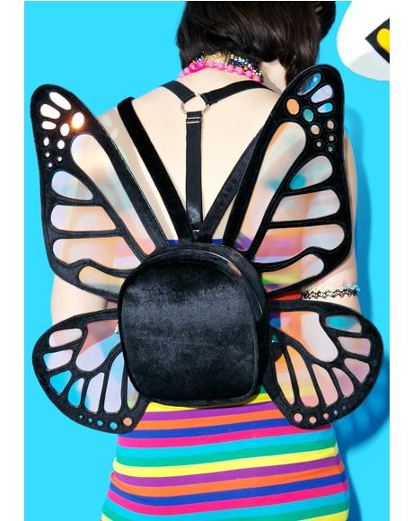 Mystical Monarch Mini Backpack