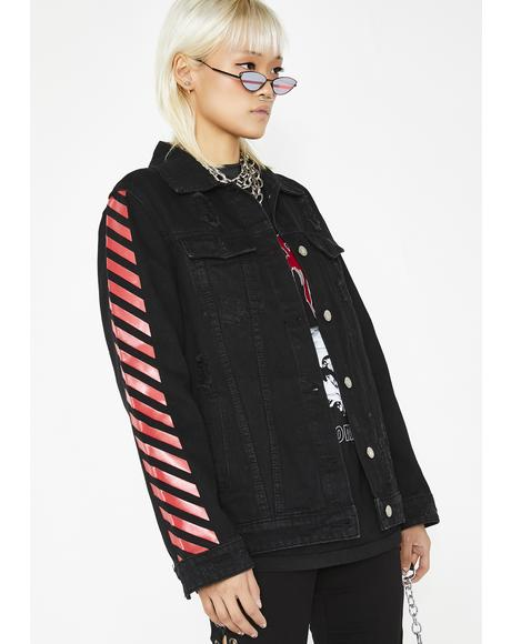 Wicked Hyped Up Striped Jacket