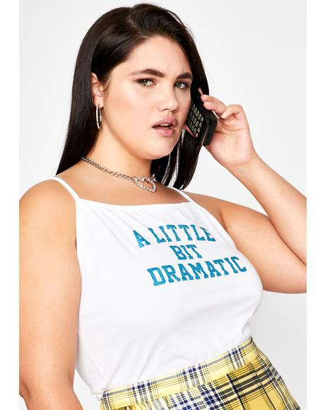 Such A Teenage Drama Queen Graphic Tank