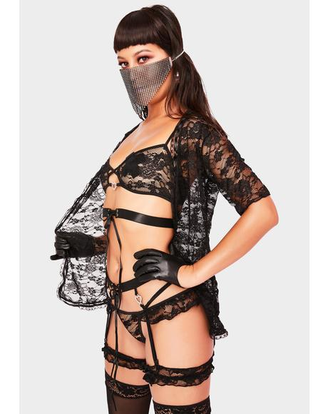 Satisfy Me 4 Piece Lingerie Set