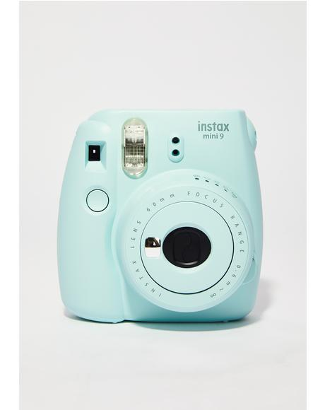 Ice Blue Mini 9 Camera