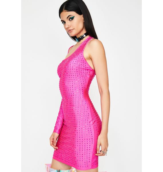 Baby Let'z Party Embellished Dress