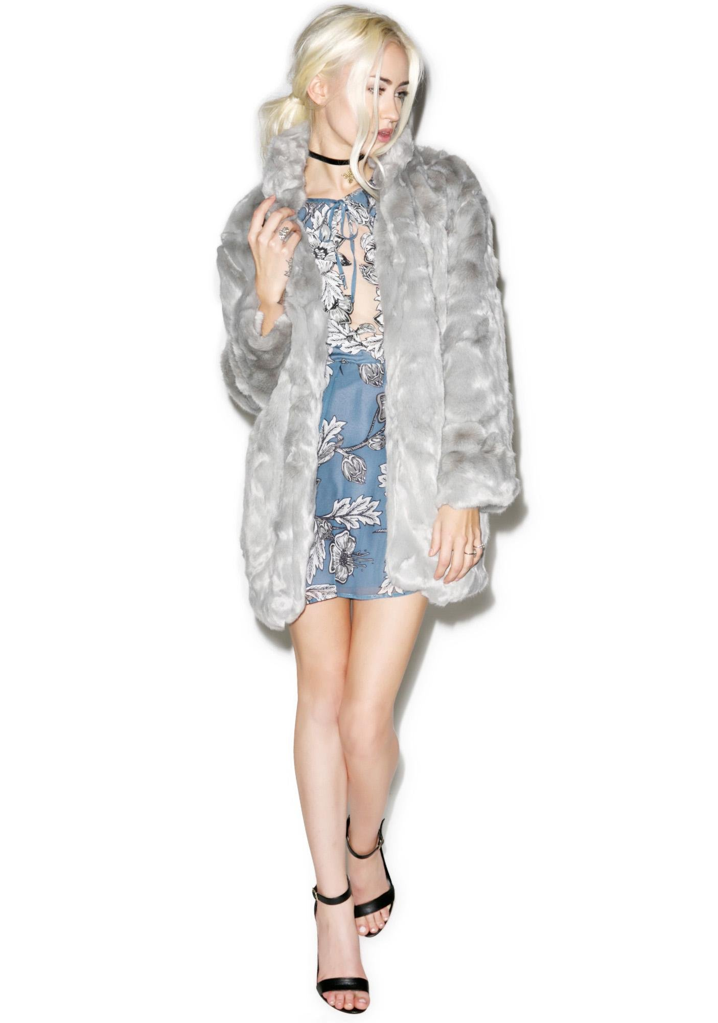 Fierce Faux Fur Coat