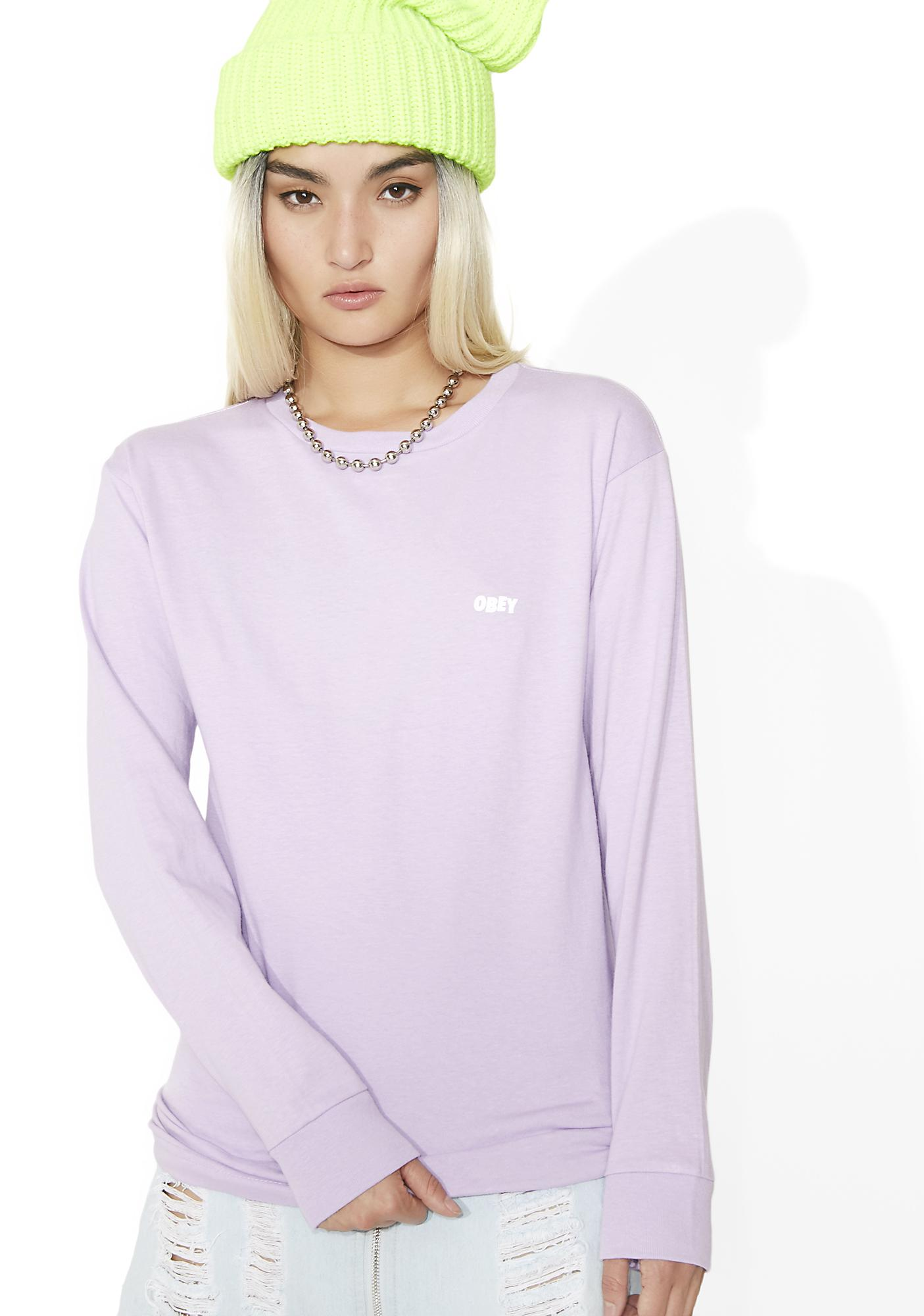 Obey Jumble Lo-Fi Basic Long Sleeve Tee