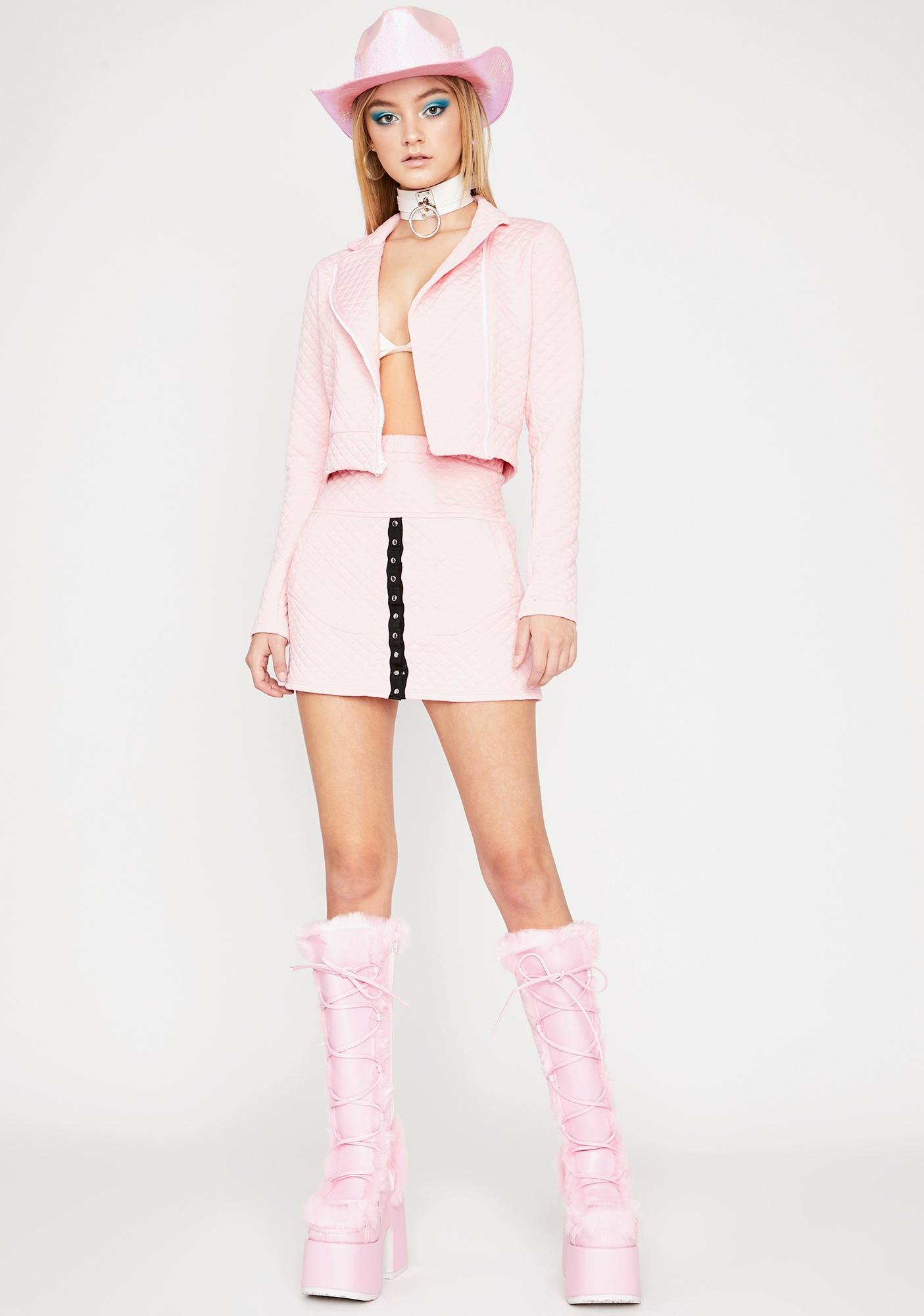 Baby Gotta Bounce Mini Skirt