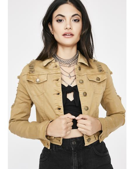 Feelin' Salty Distressed Jacket