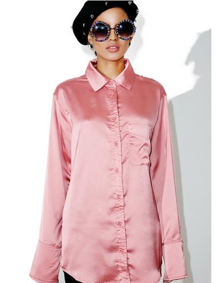 Into You Button-Up Blouse