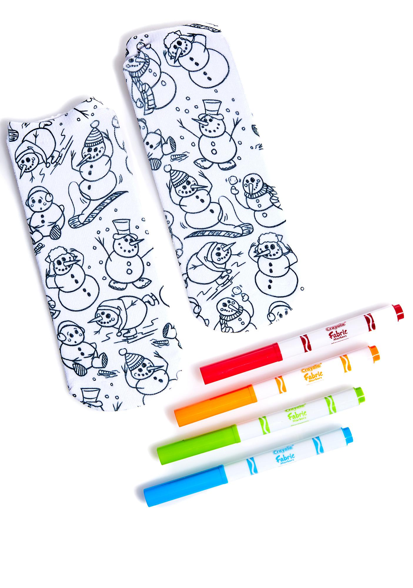 Snowbros Color-In Socks