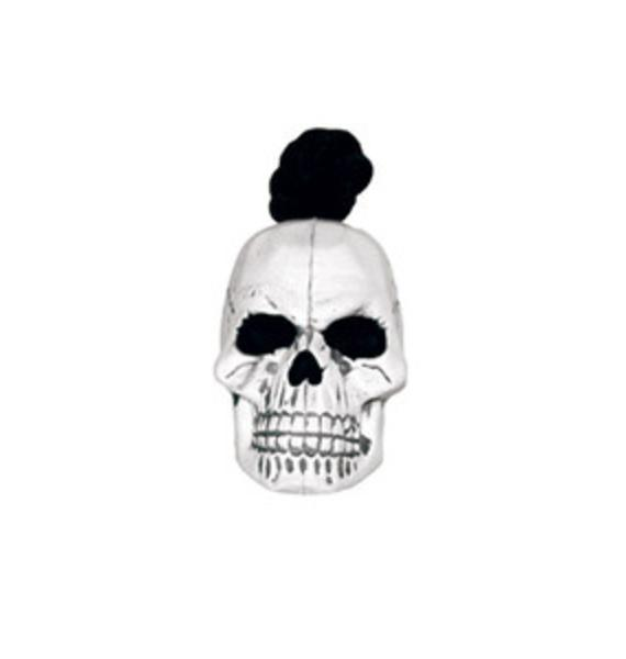 Skull Rubber Dog Toy