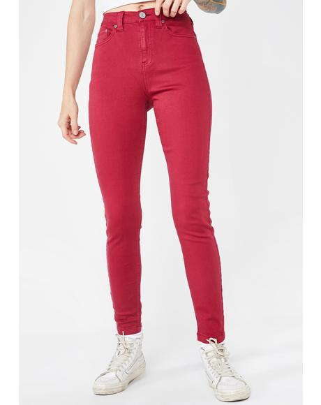 Authentic Skinny Modal Pants