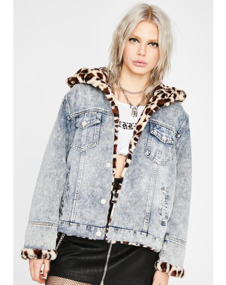 Miss Fierce Denim Jacket